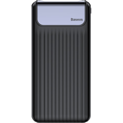 Baseus Thin Digital 10000mAh Power Bank QC 3.0 Dual USB BS-P10KQ02 (PPYZ-C01) BLACK