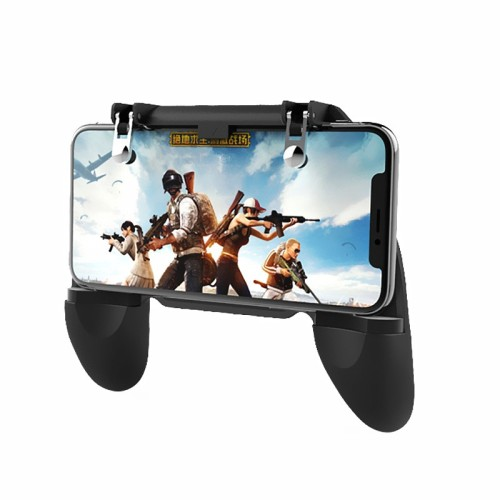 W10 Εξωτερικά πλήκτρα Mobile Game Controller Cellphone Fire Button Trigger Gaming Grip with Joystick Τεχνολογία