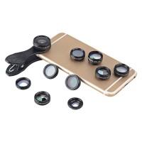 APEXEL APL - DG10 10 in 1 External Phone Camera Lens Suit Τεχνολογία