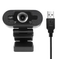 PNI CW2860 Webcam Full HD 4MP, USB, Clip-on, Ενσωματωμένο μικρόφωνο, Σύνδεση υπολογιστή / φορητού υπολογιστή, 30fps, Αυτόματη διόρθωση χρώματος Multimedia