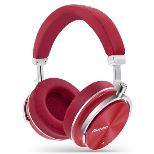 Bluedio T4  red 4th generation Portable Noise Cancelling Bluetooth Headphones