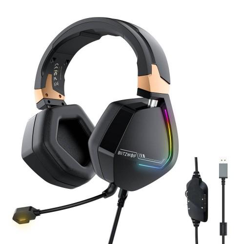 Ακουστικά / Gaming Headphones BlitzWolf BW-GH2, RGB, 7.1
