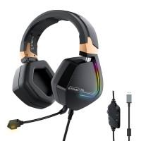 Ακουστικά / Gaming Headphones BlitzWolf BW-GH2, RGB, 7.1 Τεχνολογία
