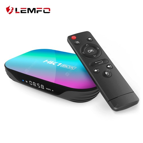 LEMFO HK1 S905X3 Smart TV Box Android 9.0 (4GB 128G) USB 3.0