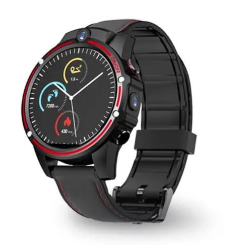 Kospet Vision 1.6  Smart Watch Phone 4G - Μαύρο/Κόκκινο