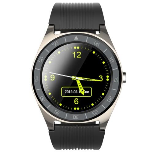V5 Smart Watch Phone Sleep Monitor Multiple Sports Modes Fitness Bracelet Black