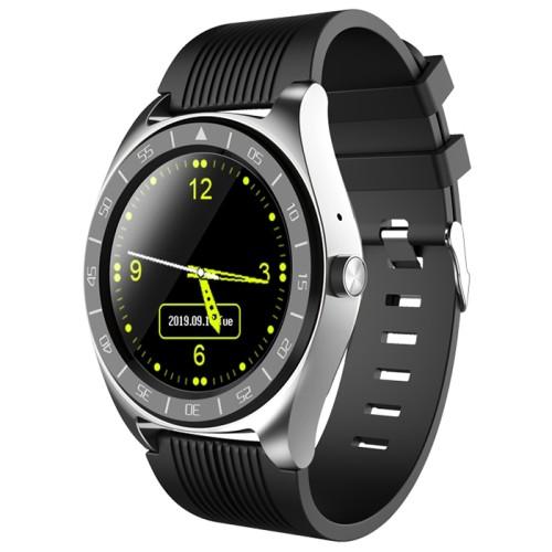 V5 Smart Watch Phone Sleep Monitor Multiple Sports Modes Fitness Bracelet Silver