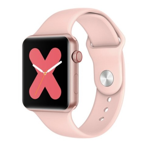 LEMFO B59 Smart Watch Series 4 For Men and Women Heartrate Detection Blood Pressure Weather Forecast For Apple Android Watch PINK
