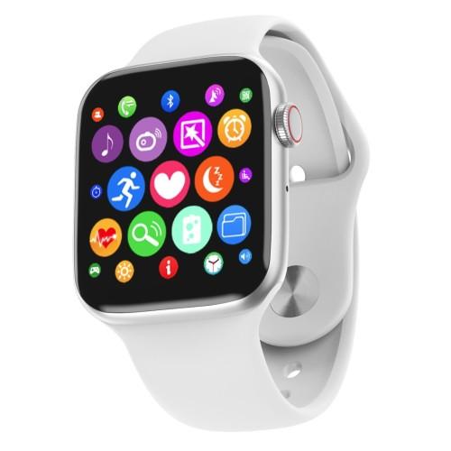 "LEMFO W34 1.54"" Full Touch Women Smart Watch Men For Apple Watch Bluetooth Call ECG Monitor Health Tracker Smart Band WHITE"