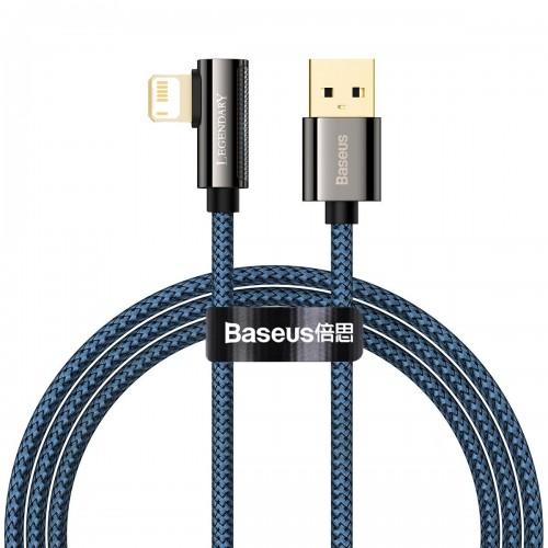 Cable USB to Lightning Baseus Legend Series, 2.4A, 1m (blue) CACS000003