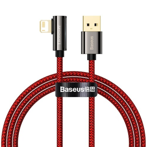 Cable USB to Lightning Baseus Legend Series, 2.4A, 1m (red) CACS000009