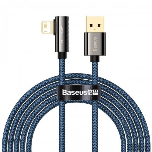 Cable USB to Lightning Baseus Legend Series, 2.4A, 2m (blue) CACS000103