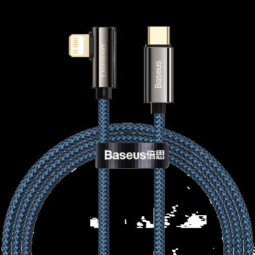 Cable USB-C to Lightning Baseus Legend Series, PD, 20W, 1m (blue) CACS000203