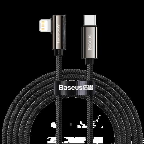 Cable USB-C to Lightning Baseus Legend Series, PD, 20W, 1m (black) CATLCS-01