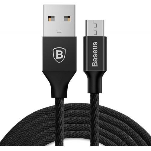 Baseus CAMYW-B01 Micro USB Yiven cable 2A 1.5m black Τεχνολογία