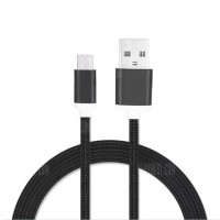 1.5M Nylon Braid Micro USB Data Charging Cable BLACK Τεχνολογία