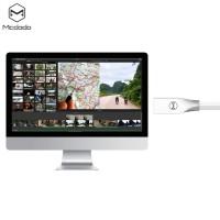 Mcdodo CA - 125 Micro USB Metal Housing Noodle Transfer Data Synchronization Charging Cord 1m WHITE Τεχνολογία