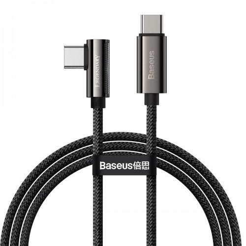 Cable USB-C to USB-C Baseus Legend Series, PD, 100W, 1m (black) CATCS-01
