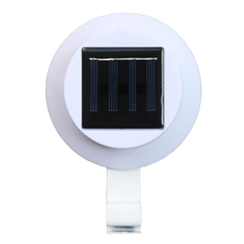 Ηλιακό Σποτ - Fence Eaves Landscape Garden Solar Light Outdoor Lighting Induction Wall Lamp - Μαύρο