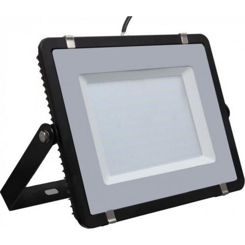 V-TAC Προβολέας LED Samsung chip 200W Ψυχρό λευκό 6400K Μαύρο σώμα