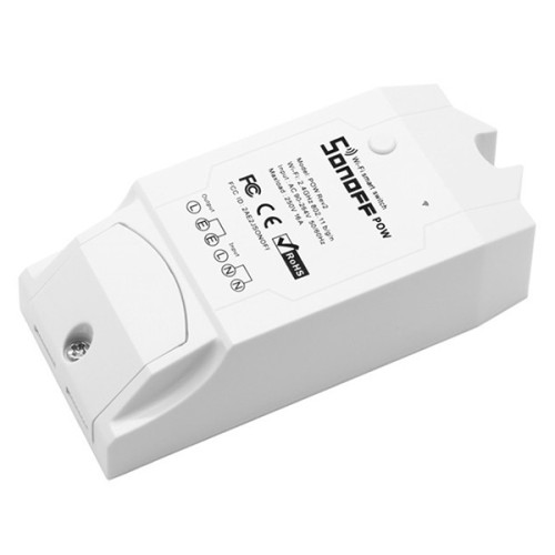 Sonoff Pow R2 WiFi 15A 3500W Intelligent Remote Power Monitor Electricity Statistics Current Metering Switch Modification Part