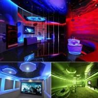 ZDM 5M LED ταινία / strip 300 75W 5050 SMD RGB πολύχρωμη IP20 αδιάβροχη με Τηλεχειριστήριο Σπίτι - Κήπος