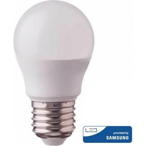 V-TAC Λάμπα LED E27 G45 Samsung SMD 7W Θερμό λευκό 3000K