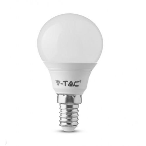 V-TAC Λάμπα LED E14 P45 Samsung SMD 7W Ψυχρό λευκό 6400K
