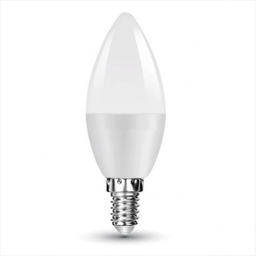 V-TAC Λάμπα LED Κερί E14 Samsung Chip SMD 7W Θερμό λευκό 3000K