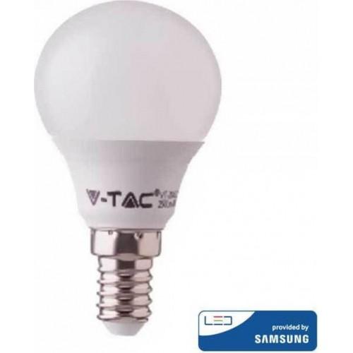 V-TAC Λάμπα LED E14 P45 Samsung SMD 7W Θερμό λευκό 3000K