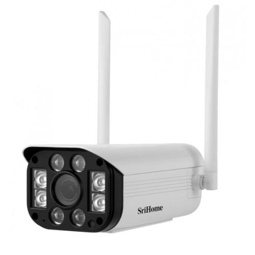 Srihome SH031 Κάμερα 5x Zoom Waterproof IP Camera 3MP
