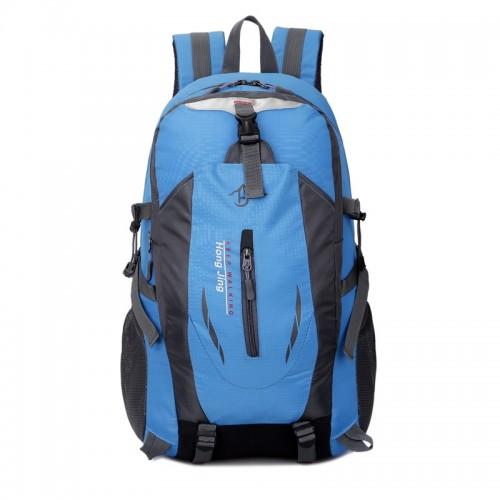 2fc5629ae5 Casual Waterproof Simple Backpack τσάντας πλάτης αδιάβροχη μαύρο-μπλε