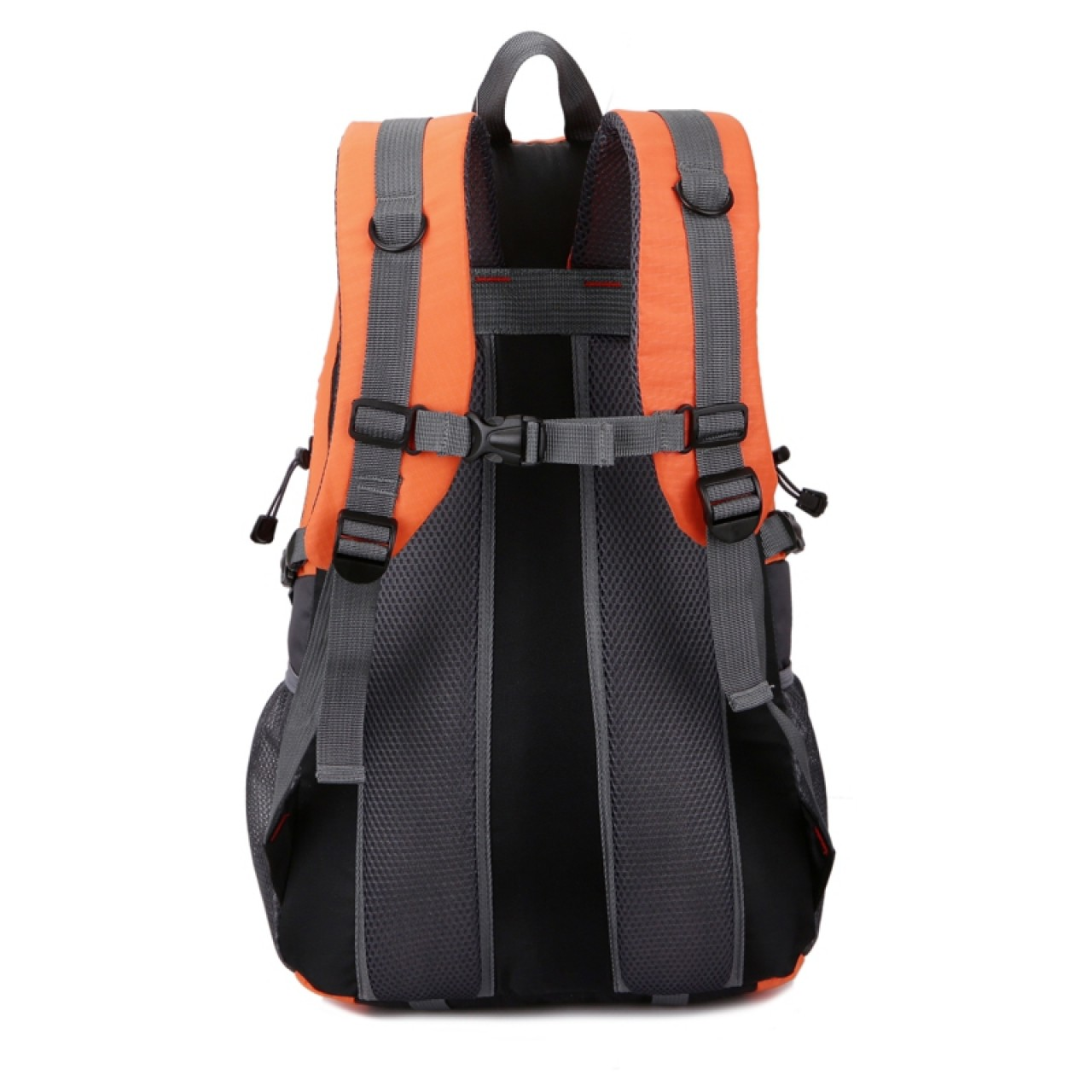 0c6ef804fe4 ... Casual Waterproof Simple Backpack τσάντας πλάτης αδιάβροχη μαύρο-πορτοκαλί  Hobby - Αθλητισμός ...