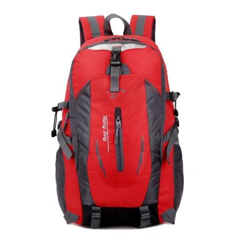 8f2aaa0086 Casual Waterproof Simple Backpack τσάντας πλάτης αδιάβροχη μαύρο-κόκκινο