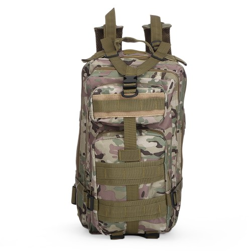 3P Military 30L Backpack Sports Bag for Camping Traveling Hiking Trekking τσάντας πλάτης CP CAMOUFLAGE Hobby - Αθλητισμός