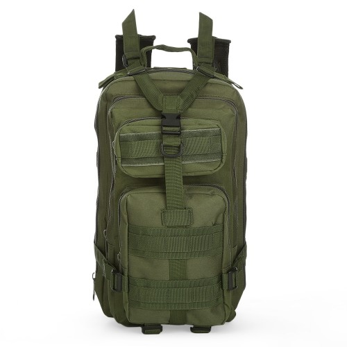 3P Military 30L Backpack Sports Bag for Camping Traveling Hiking Trekking τσάντας πλάτης ARMY GREEN Hobby - Αθλητισμός