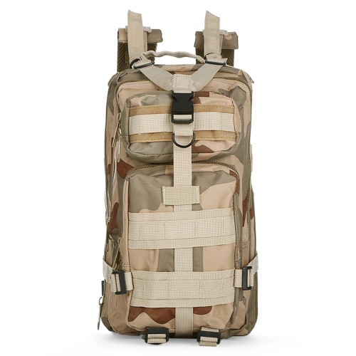 3P Military 30L Backpack Sports Bag for Camping Traveling Hiking Trekking τσάντας πλάτης THREE SAND CAMOUFLAGE Hobby - Αθλητισμός