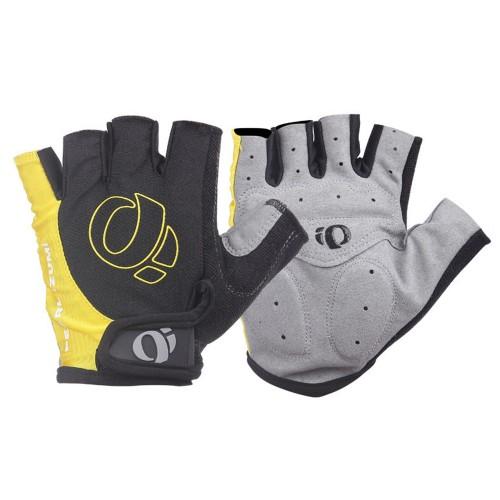 Pearl Izumi Half-finger Breathable Anti-shock Gloves Yellow
