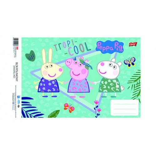 Μπλοκ Ζωγραφικής Peppa Pig A4 21x29.7cm 20Φύλλα 1τμχ