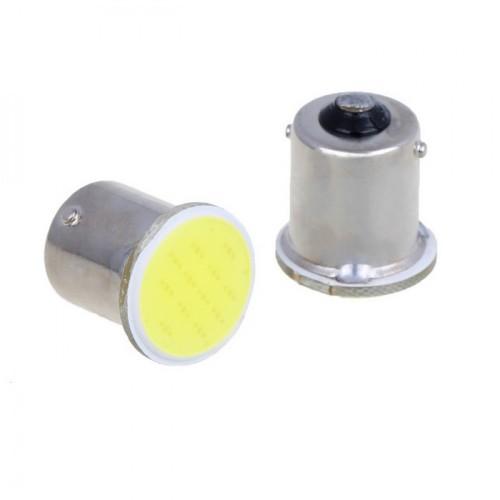 Μονοπολική λάμπα LED COB 1156/1157 BA15S 1 ΛΕΥΚΟ OEM