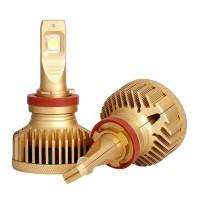 Auxbeam GT Series 90W H11 Super Bright LED Headlight Bulbs 9000LM Auto - Moto