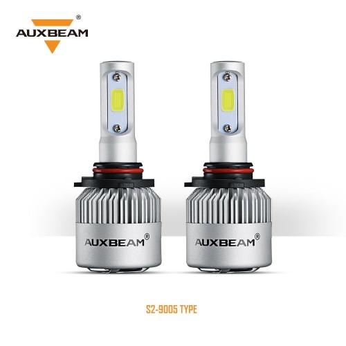 AUXBEAM (2pcs/set) 9005 S2 Series LED Headlight Bulbs - 6500K 8000LM