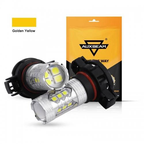 AUXBEAM (2pcs/set) H16/5202 US Golden Yellow Light LED Fog Light Bulbs