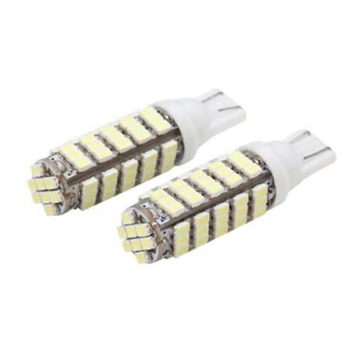 OEM T10 68 SMD 1206 Lumens 1088 LED Lamp Extra bright 2PCS Λευκό