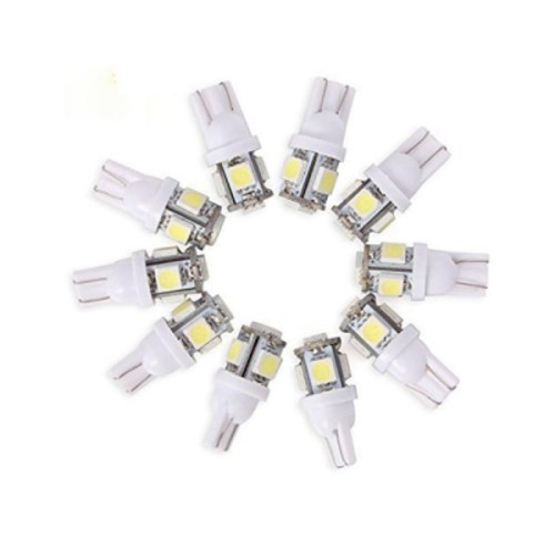 OEM T10 5 SMD 5050 LED Bulb 2.5W 6500K 12V 10PCS Λευκό