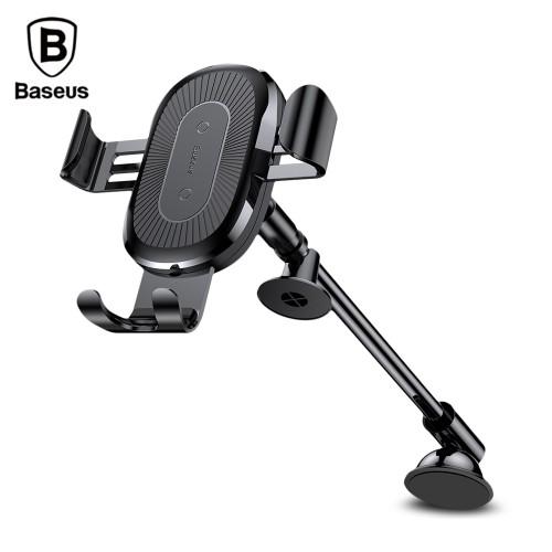Baseus Fast Wireless Charger Stickup Gravity Car Mount 10W