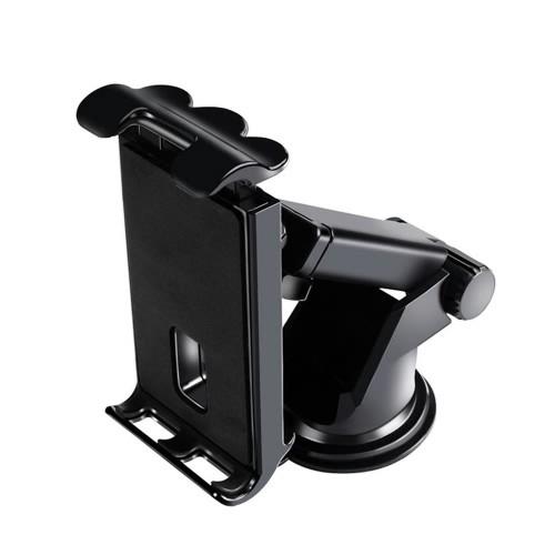 Βάση κινητού - tablet για το αυτοκίνητο P007 Universal 360 one touch  4'' to 10.5'' tablets black