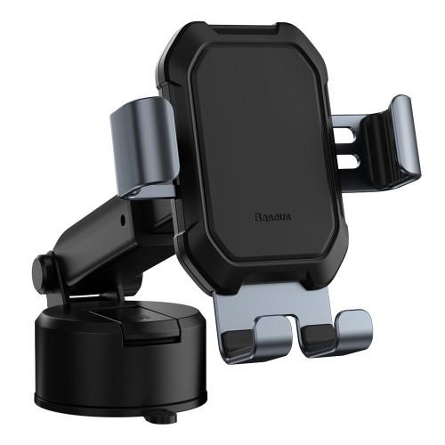 Baseus Βάση Τηλεφώνου για Αυτοκίνητο - Μαύρο(SUYL-TK01)