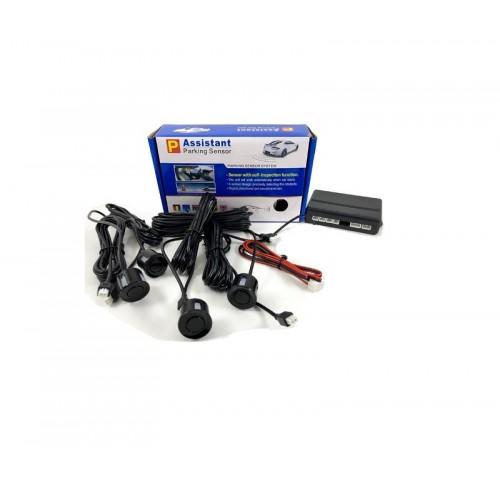 Αισθητήρες παρκαρίσματος 4Χ – Μαύρο – Assistant Parking Sensors – Sound – 420257
