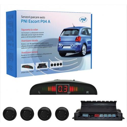 Αισθητήρες στάθμευσης αυτοκινήτων PNI Escort P04 A με 4 δέκτες
